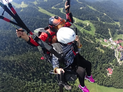 First time paragliding and for sure not the last one